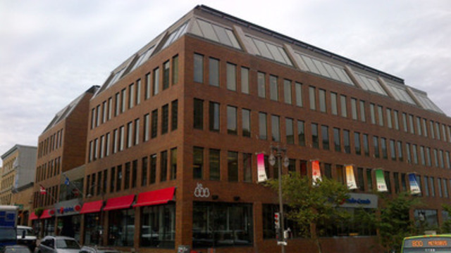 Le 888 St-Jean in Quebec City is CANMARC's newest acquisition (CNW Group/CANMARC REAL ESTATE INVESTMENT TRUST)