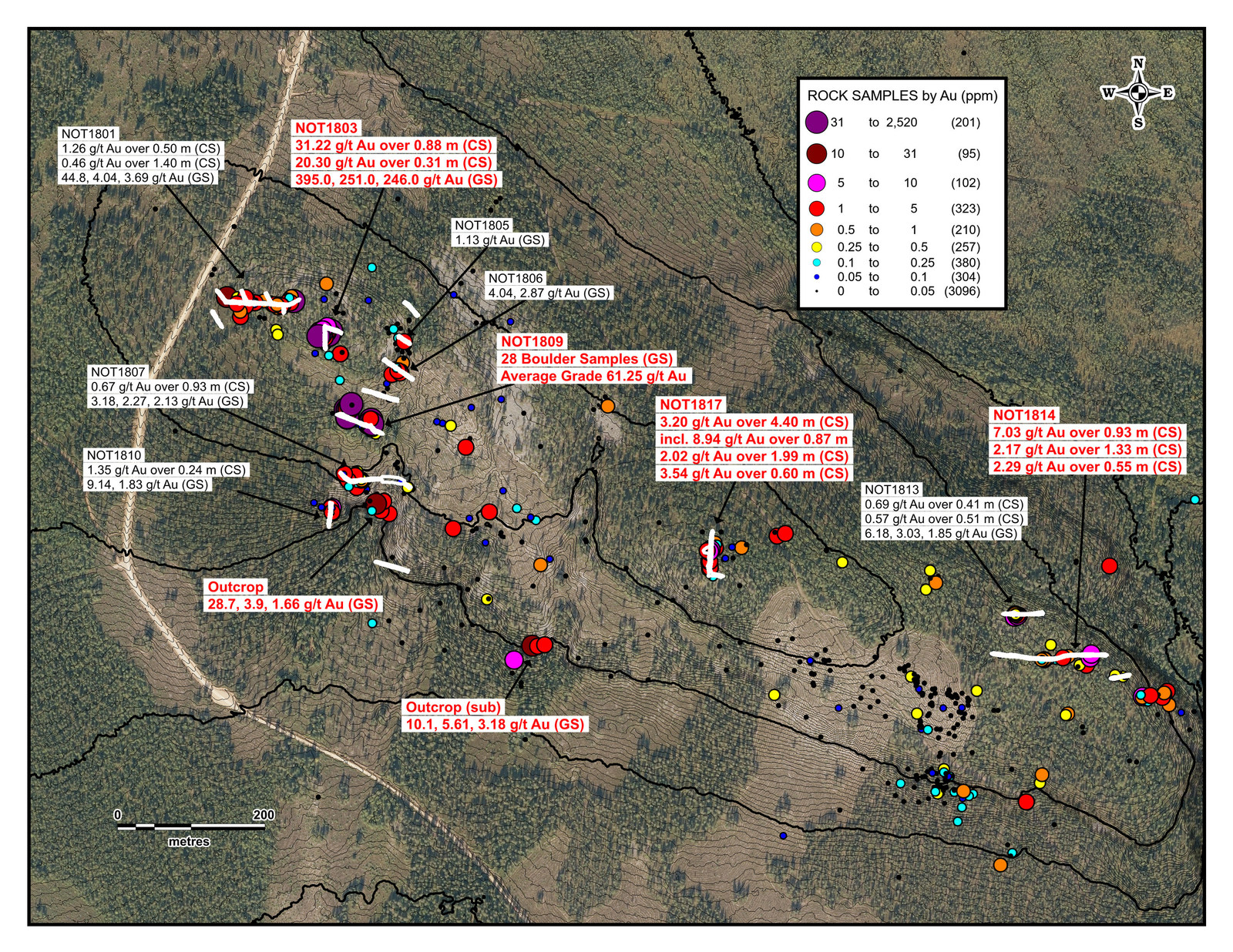 Aurion Resources Discovers New Style of Gold Mineralization