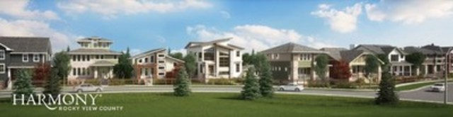 Harmony show home parade (CNW Group/Harmony Developments)
