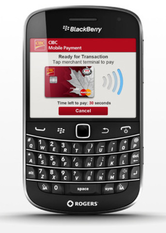 CIBC and Rogers Unveil the Future of Mobile Payments in Canada (CNW Group/CIBC)