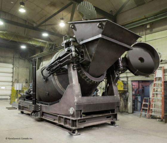 PyroGenesis' DROSRITE (TM) Aluminum Recovery System (CNW Group/PyroGenesis Canada Inc.)