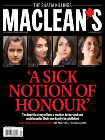 In a 22-page report, Maclean's magazine presents an in-depth report on what really went on inside the Shafia home before and after the murders of four family members - as well as providing detailed coverage of the subsequent police investigation and three-month trial. (CNW Group/Maclean's Magazine)