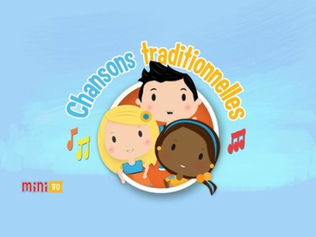 App Chansons Traditionnelles (CNW Group/Groupe Média TFO)