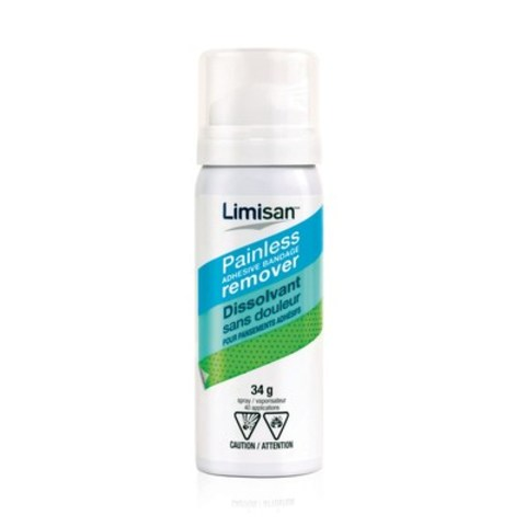 LIMISAN™, the new innovative painless adhesive bandage remover, launches in Quebec! (CNW Group/LIMISAN)