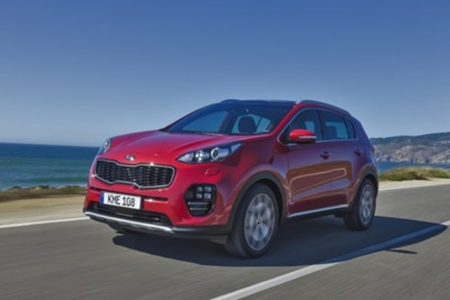 All-New Kia Sportage (CNW Group/KIA Canada Inc.)