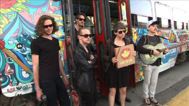 Video: Free VIDEO B-ROLL AVAILABLE VIA CNW - The Pizza Underground and MiO make things original at this year's NXNE festival