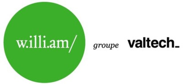 Logo : w.illi.am/ Valtech Groupe (Groupe CNW/w.illi.am/ Valtech Groupe)