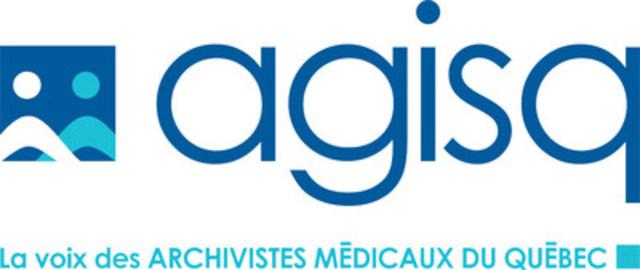 Logo : Association des gestionnaires de l'information de la santé du Québec (Groupe CNW/Association des gestionnaires de l'information de la santé du Québec)