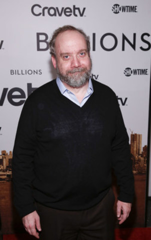 Academy Award-nominee and Golden Globe-winner Paul Giamatti attends the premiere of the new SHOWTIME drama ...