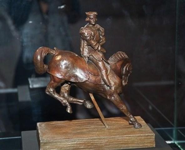 Le Cheval de Léonard, Léonard de Vinci (Groupe CNW/Da Vinci Horse and Rider)