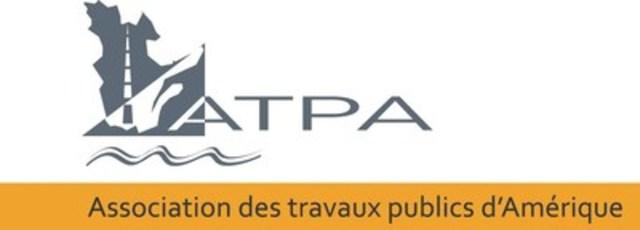 Logo : Association des travaux publics d'Amérique (ATPA) (Groupe CNW/Association des travaux publics d'Amérique - chapitre du Québec)