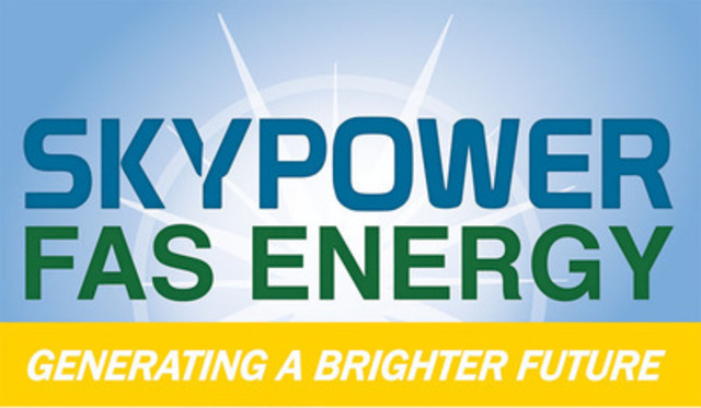 SkyPower FAS Energy (CNW Group/SkyPower FAS Energy)