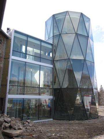 Musée Stewart, île Ste-Hélène. (Groupe CNW/ROCHE LTEE, GROUPE-CONSEIL)