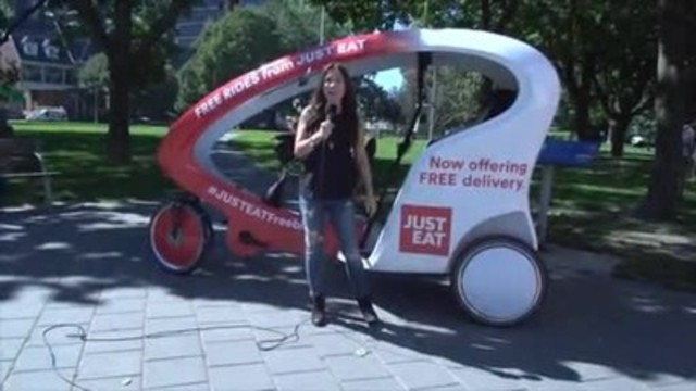Video: JUST EAT Canada is rolling out free delivery at 70% of its restaurants nationwide.  The popular delivery app celebrated by sharing a free lunch with fans. Video courtesy:  just-eat.ca