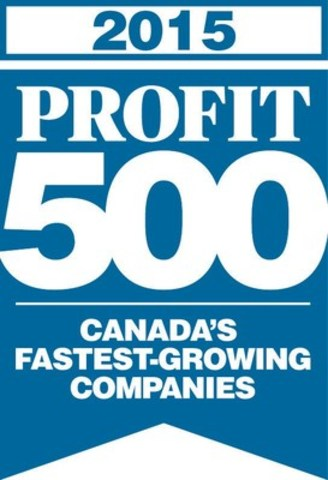 2015 PROFIT 500 Canada's Fastest Growing Companies (CNW Group/THREE O FOUR Limited)