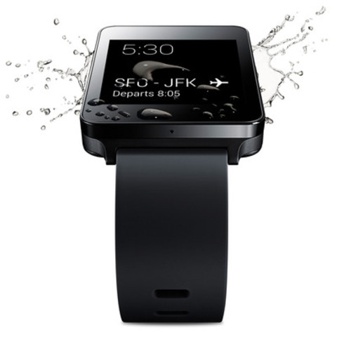LG G Watch launches on Wednesday, June 25. Available for pre-order on the Google Play Store today  (CNW Group/LG Electronics Canada, Inc.)