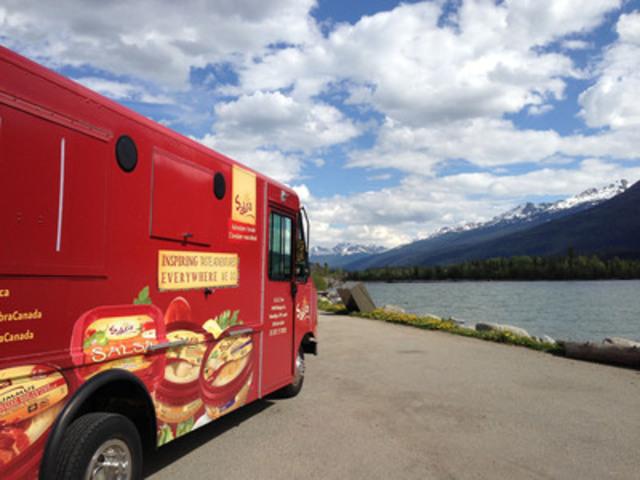 Hummus pour tous : Les camions de Sabra Canada partent en tournée (Groupe CNW/Sabra Canada Inc.)