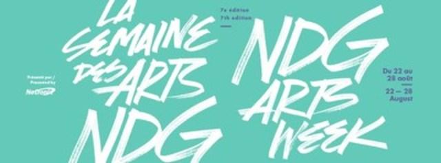 La Semaine des Arts NDG (Groupe CNW/Ville de Montréal - Arrondissement de Côte-des-Neiges - Notre-Dame-de-Grâce)
