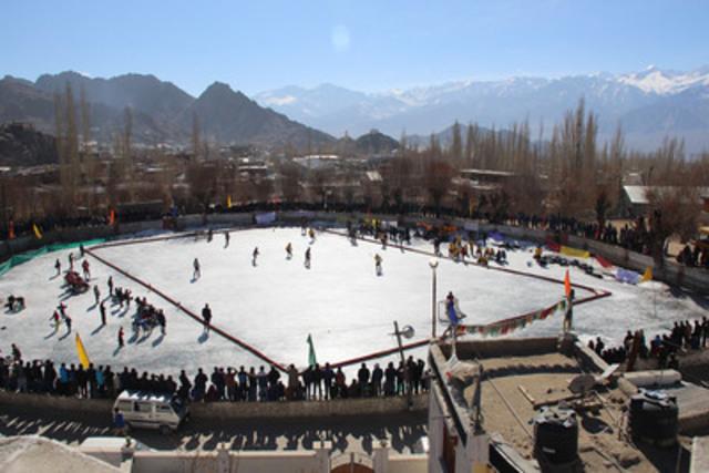 Le parrainage de la Financière Sun Life en Inde contribue à faire connaître le hockey et à promouvoir les activités liées à la santé dans l'un des principaux marchés de l'organisation. (Groupe CNW/Financière Sun Life inc.)