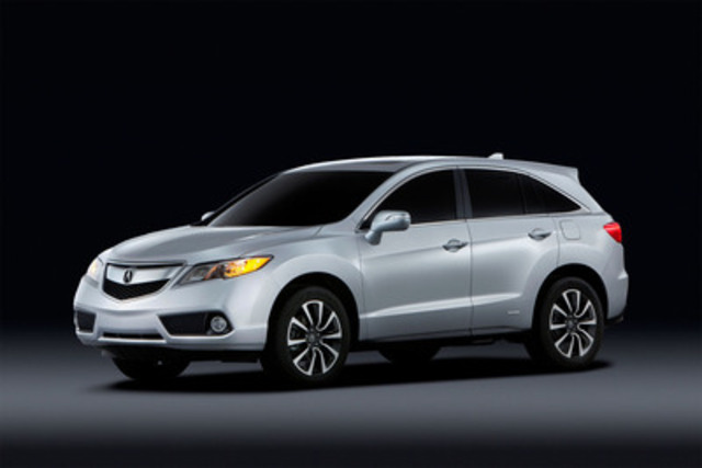 Acura Debuts All-New 2013 RDX Crossover at Montreal International Auto Show(CNW Group/Acura Canada)