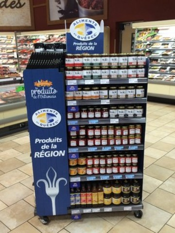 METRO LAUNCHES ITS DEVELOPMENT PROGRAM FOR REGIONAL PRODUCTS AT ITS OUTAOUAIS STORES (CNW Group/METRO INC.)