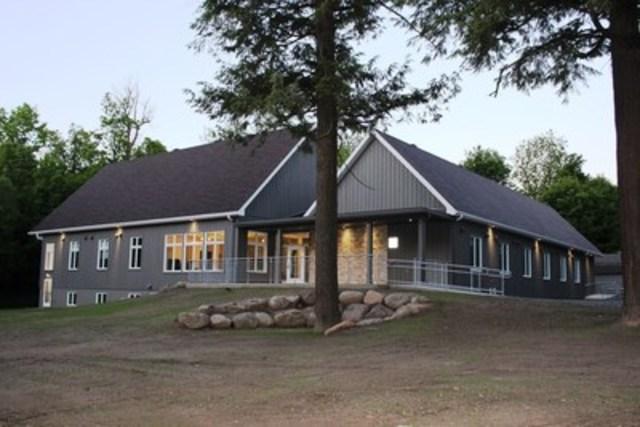 DE GRANDPRÉ PAVILION (CNW Group/Quebec Society for Disabled Children)