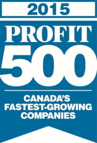 SiriusXM Canada ranked one of Canada's Fastest-Growing Companies on 2015 PROFIT 500 list (CNW Group/Sirius XM Canada Holdings Inc.)
