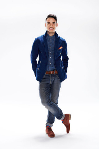 Carlos Bustamante, host of YTV's The Next Star Season 6 (CNW Group/YTV Canada Inc.)