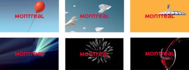 Variations of the Tourisme Montréal logo (CNW Group/Tourisme Montréal)