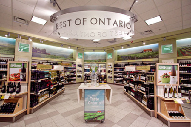 LCBO stores showcase the best Ontario wines (CNW Group/LCBO)