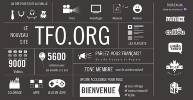 TFO.org (CNW Group/Groupe Média TFO)