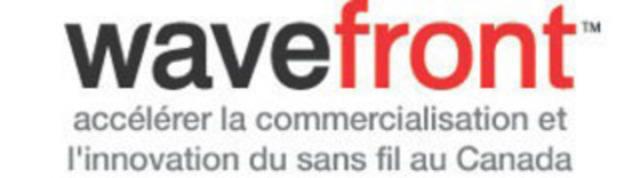 Wavefront: accélérer la commercialisation et l'innovation du sans fil au Canada (Groupe CNW/Wavefront)