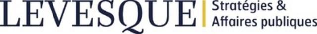 Logo: LEVESQUE Stratégies & Affaires publiques (Groupe CNW/LEVESQUE Stratégies & Affaires publiques)