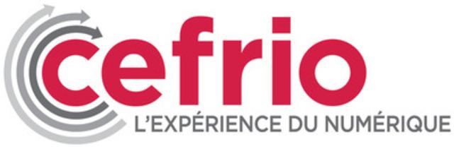 Nouveau logo du CEFRIO : l'expérience du numérique. (Groupe CNW/CENTRE FRANCOPHONE D'INFORMATISATION DES ORGANISATIONS (CEFRIO))