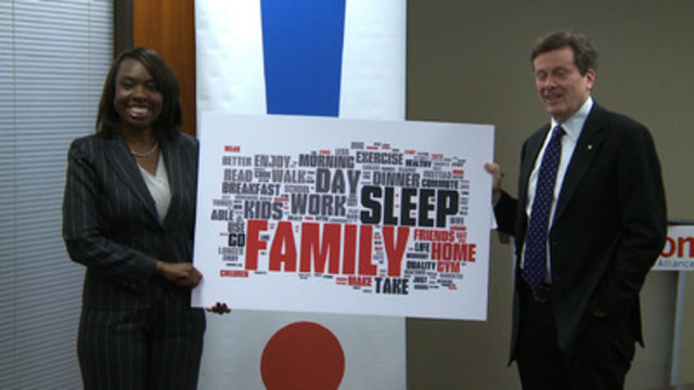 Video: CivicAction's Chair John Tory and CEO Mitzie Hunter update media on the Your32 Campaign, sharing that GTHA residents have revealed the human cost of gridlock in our region.