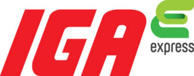 Logo : IGA express (Groupe CNW/IGA express)