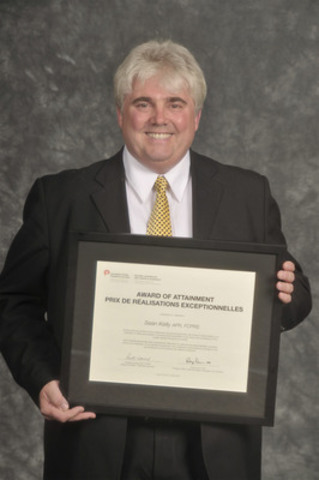 CPRS Award of Attainment recipient, Sean Kelly APR, FCPRS. (CNW Group/Canadian Public Relations Society)