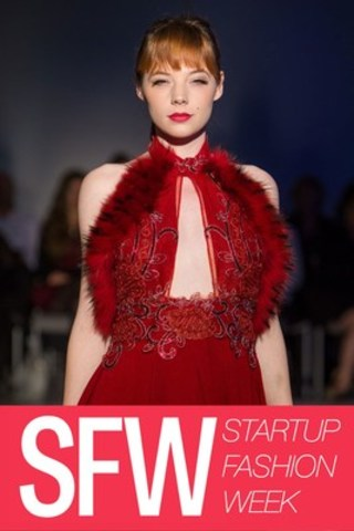 Photo Credit: Shayne Gray / Designer: Pepper Couture / 2015 SFW Runway Show (CNW Group/Startup Fashion Week)