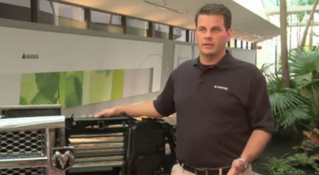 Video: Tony Povinelli, Director of Advanced Technology and Business Development for Magna Exteriors and Interiors, discusses the company's new Active Grille Shutter technology.  Active Grille Shutter reduces a vehicle's drag and helps improve gas mileage.