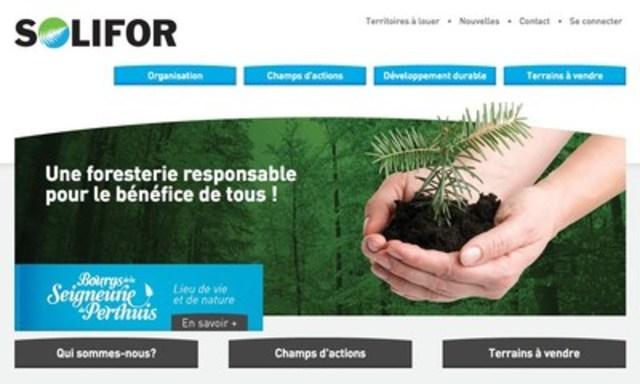 Solifor, une filiale du Fonds de solidarité FTQ (Groupe CNW/Fonds de solidarité FTQ)