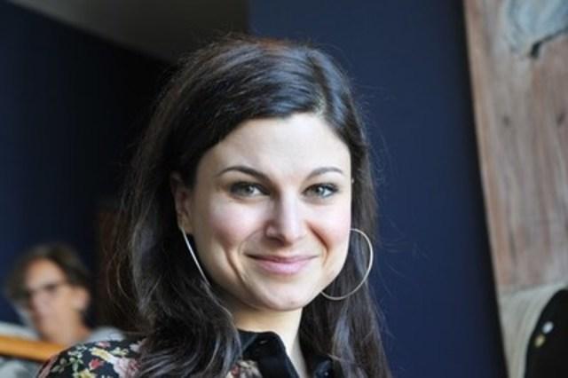 Émilie Bibeau, comédienne diplômée du Conservatoire d'art dramatique de Montréal en 2002 (Groupe CNW/Conservatoire de musique et d'art dramatique du Québec)