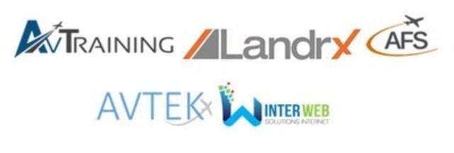 AvTraining, LandrX, AFS, AvTek et Winterweb (Groupe CNW/Dubé & Co)
