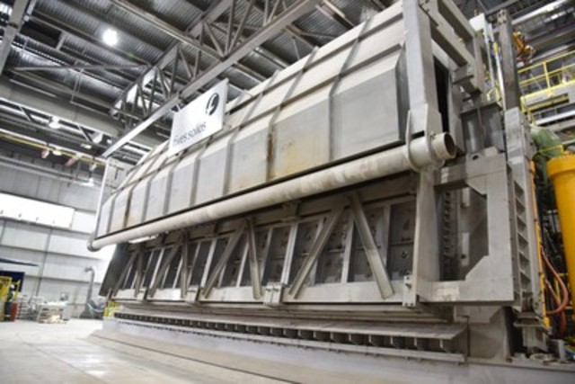 Rio Tinto's modernised Kitimat smelter begins production (CNW Group/RIO TINTO ALCAN - EN)
