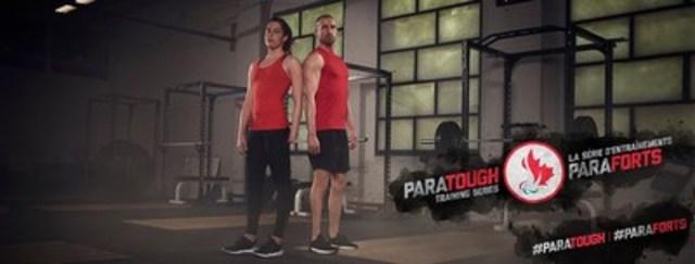 Les para-nageurs Aurélie Rivard et Benoît Huot font parti de la Série d'entraînements ParaForts, la toute première série d'entraînements présentée entièrement par des paralympiens. Crédit : CPC/Tyler Gray/John Stevancec/Westside Studio (Groupe CNW/Comité paralympique canadien (CPC))