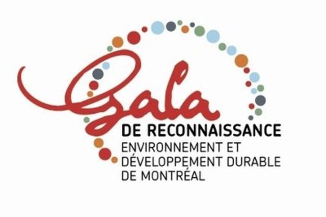 Gala de reconnaissance en environnement et développement durable de Montréal (Groupe CNW/Ville de Montréal - Cabinet du maire et du comité exécutif)
