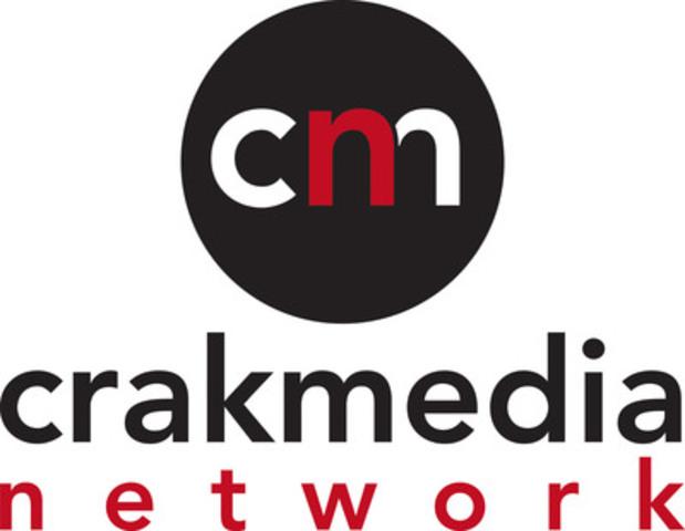 Logo - Crakmedia (CNW Group/Crakmedia)