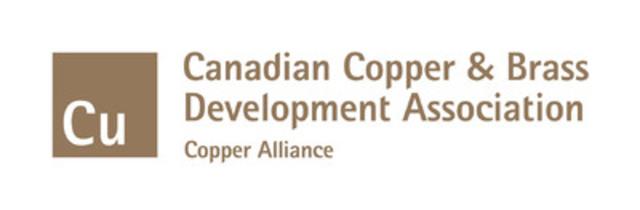 Canadian Copper & Brass Development Association Logo (CNW Group/Canadian Copper & Brass Development Association)