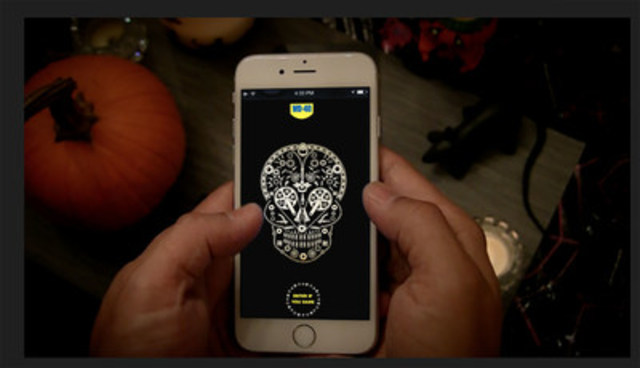 BIMM creates a cool app for WD-40 that turns any door into a Haunted Door. Just in time for Halloween. (CNW Group/BIMM)