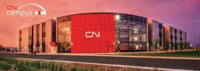 Campus CN de Winnipeg (Groupe CNW/La Compagnie des chemins de fer nationaux du Canada)