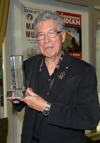 RBC Taylor Prize 2014 winner was announced today. Thomas King won the annual non-fiction prize for his book The Inconvenient Indian: A Curious Account of Native People in North America. Pictured Thomas King. (CNW Group/RBC Taylor Prize)